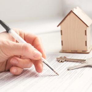 Preparar un contrato de alquiler y firmarlo con las dos partes